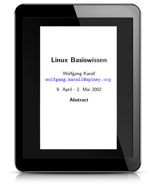 Linux Bassiswissen